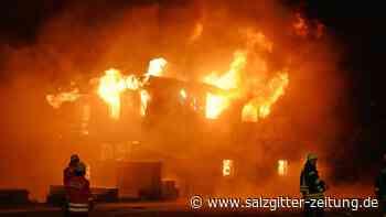 Millionenschaden nach Brand in Dorfgemeinschaftshaus in Brome