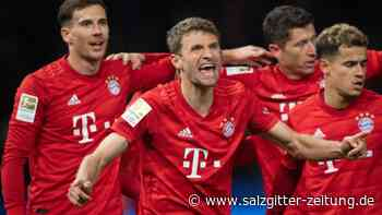 Bundesliga: FCBayern sagt Leipzig den Kampf an - Hoher Sieg in Berlin