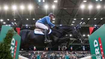 Pferdesport: Springreiter Ahlmann verpasst Hattrick in Leipzig
