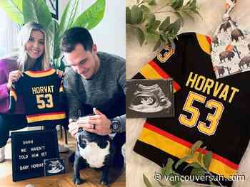 Vancouver Canucks' Bo and Holly Horvat set to welcome tiny new teammate
