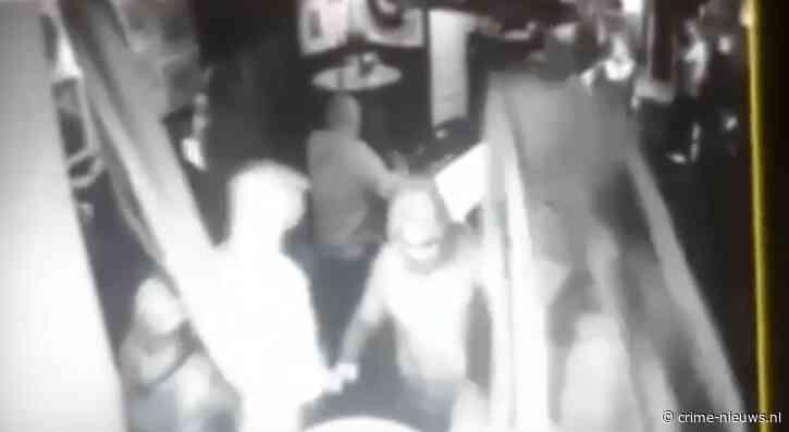VIDEO: Ravage in café Woerden door vechtende hooligans Feyenoord en Heerenveen