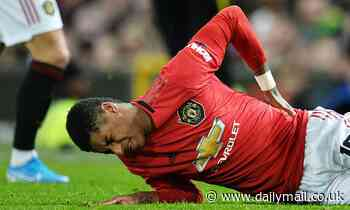Marcus Rashford set to miss three months of action with double stress fracture