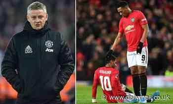 Ole Gunnar Solskjaer hints Manchester United could seek loan moves after Marcus Rashford back break