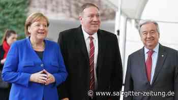 Spitzentreffen in Berlin: Libyen-Gipfel einigt sich auf Waffenembargo