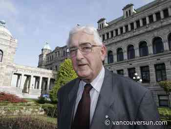 Vaughn Palmer: A few words from Ted Hughes could end a politician's career