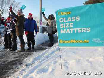 What are the issues behind strikes by Ontario elementary teachers that start this week?
