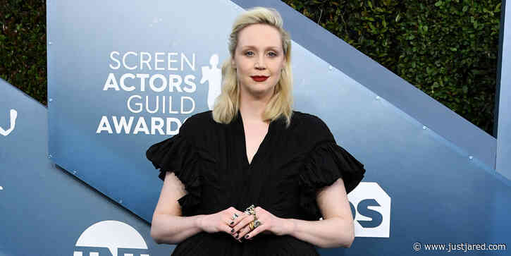 Gwendoline Christie Strikes a Pose on the Red Carpet at SAG Awards 2020