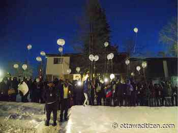 Community gathers to mourn teen slain on Gilmour Street