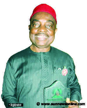 How we saved over N400bn with salary inspection –Egbule, NSIWC ex-Chairman