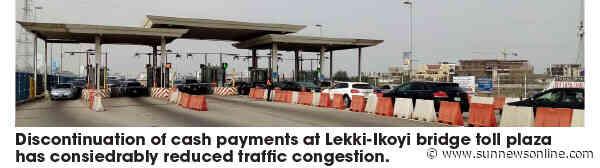 Queues reduce on Lekki-Ikoyi bridge as motorists embrace cashless tolling