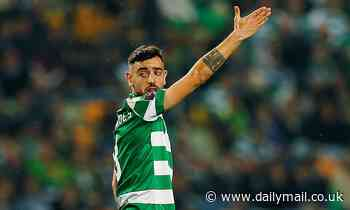 Sporting Lisbon slap a £60million price tag on Manchester United target Bruno Fernandes