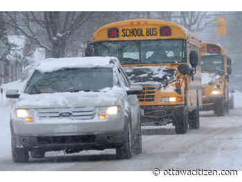 Your commute: Fewer school buses on the road, Albion Road water main break