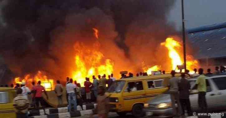 5-yr-old baby, 4 others confirmed dead in Abule Egba pipeline fire