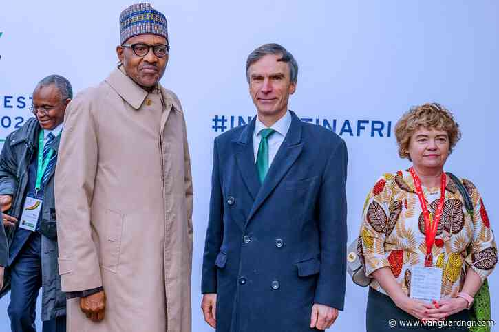 Photos: Buhari participates in Uk-Africa Summit 2020
