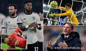 Man Utd in trouble without Marcus Rashford as Kepa struggles - 10 Premier League things we learned