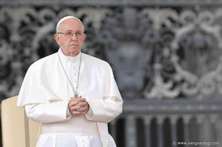 Pope Francis condemns 'barbaric resurgence' of anti-Semitism
