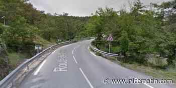 La route qui relie Pégomas à Mouans-Sartoux fermée dans les deux sens de circulation
