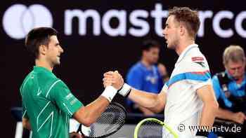 Pechvogel der Turnier-Auslosung: Struff ärgert Favorit Djokovic lange