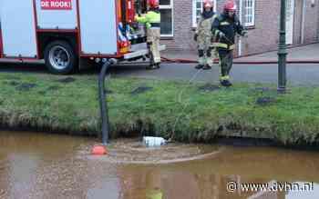 Brandweer voorkomt eventuele gasexplosie in garagebox in Oude Pekela