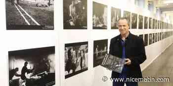Il photographie les coulisses de la série Section de Recherches depuis 7 ans et expose ses clichés à Grasse