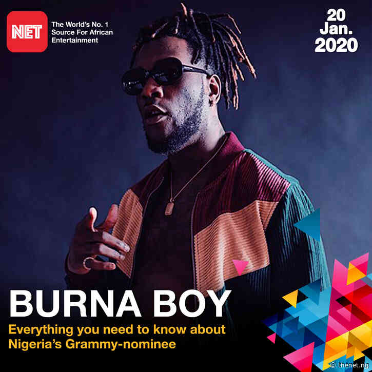 Everything you need to know about Nigeria's Grammy nominee Burna Boy
