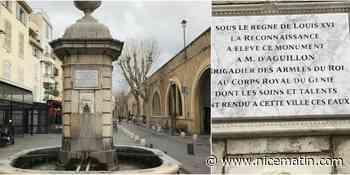 Le long combat de Louis d'Aguillon pour avoir l'eau potable à Antibes au 18e siècle