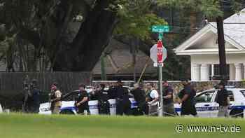 Mehrere Schießereien in den USA: Mieter tötet Polizisten und zündet Haus an