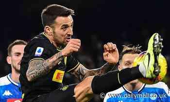 Man Utd 'line up bid for Inter Milan midfielder Matias Vecino' with Bruno Fernandes' move on hold
