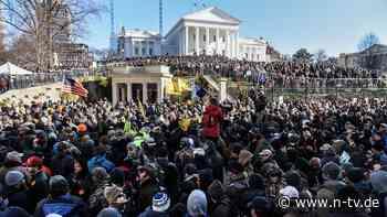 Trump heizt Demo in Virginia an: Tausende protestieren für Recht auf Waffen