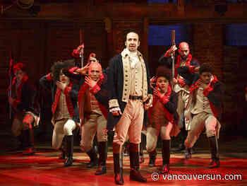 Broadway hit Hamilton coming to Vancouver's Queen Elizabeth Theatre