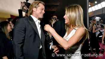 Ex-Partner: Brad Pitt und Jennifer Aniston turteln auf Film-Gala