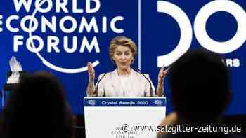 Diskussionen in Davos beginnen: Weltwirtschaft kommt sachte in Gang