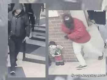 Police seek two home invasion suspects, one in custody