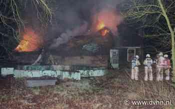 Boerderijbrand Donderseweg in Norg: boerderij zwaar beschadigd