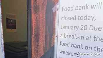 Food, power tools stolen from Windsor's Kids First Food Bank