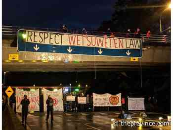 Mike Smyth: Pipeline fight widens as protesters block ferry terminal