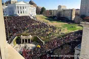 Gun rights rally in Virginia's capital ends without confrontation