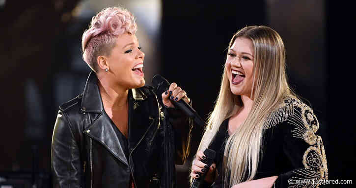 Kelly Clarkson Agrees with Pink's Views on Aging