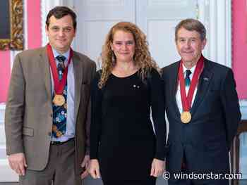 Photo: Local winners of Governor General Awards