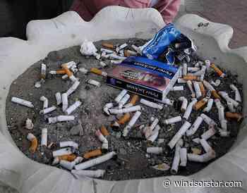 National non-smoking week – health unit