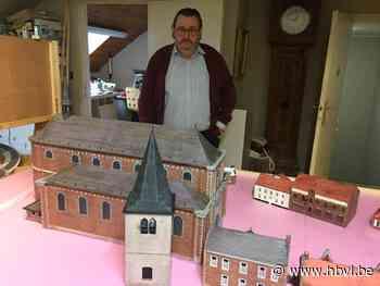 Jean (66) bouwt oude Zonhoven in miniatuur