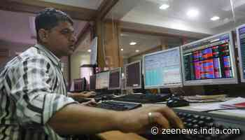 Benchmark indices open in the red; Sensex down 200 points, Nifty at 12166