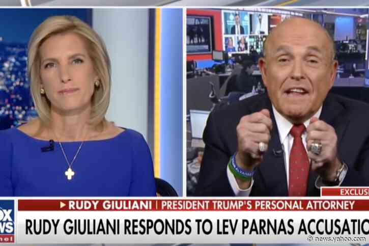Rudy Giuliani says Lev Parnas 'misled' him and 'lied stupidly'