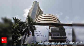 Sensex down 205 points; Nifty ends below 12,200