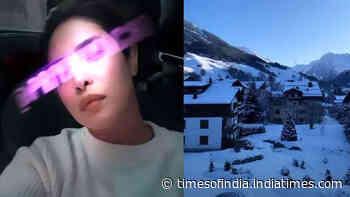 Priyanka Chopra shares pictures of her 'Winter Wonderland' as she visits Switzerland to attend the World Economic Forum