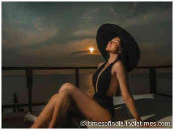 Tara shares a hot  bikini pic from Maldives