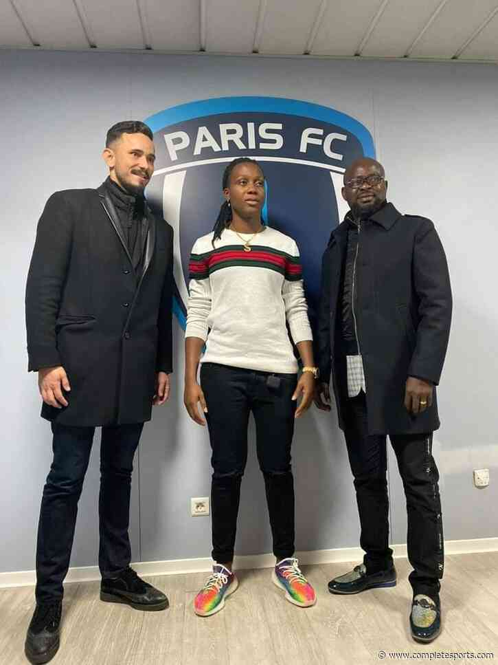 Super Falcons Goalie Nnadozie Joins French Feminine  Club Paris FC