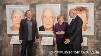 """Ausstellung """"Survivors"""": Merkel ruft zu Zivilcourage auf: """"Nicht schweigen"""""""