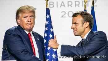 Google, Facebook und Co: Macron und Trump streben Abmachung zu Digitalsteuer an