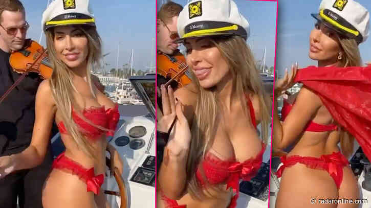 Farrah Abraham Complains She's Being 'Sex-Shamed' After Filming Racy Video In Front Of Daughter